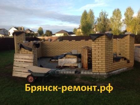 Строим открытую беседку в Антоновке